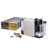 TRIAL OFFER(1 SET THE ALMA PLUS COFFEE CAPSULE MACHINE+5 BOXES OF NOVELL CAPSULE)