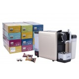 Deluxe Offer(1 Set The Alma Plus Coffee Capsule Machine+12 Boxes of Novell Capsule)