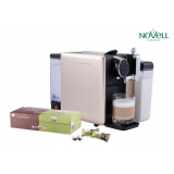 LIMITED OFFER(1 SET THE ALMA PLUS COFFEE CAPSULE MACHINE + 1 BOX OF NOVELL CAPSULE)
